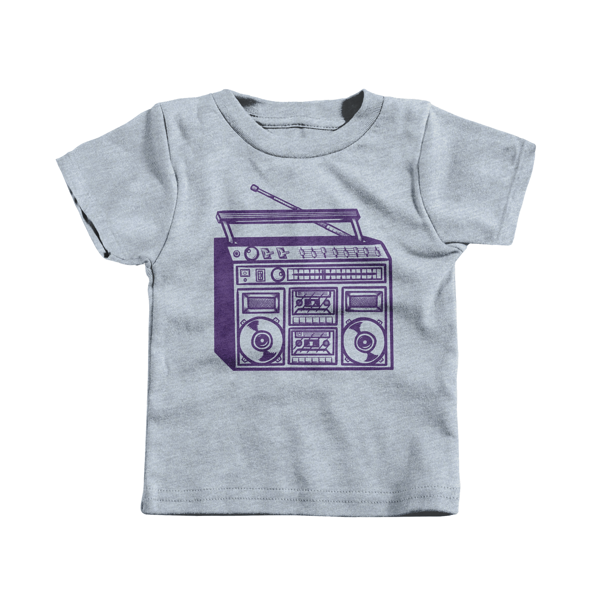 Boomboxin' Heather Grey (T-Shirt)