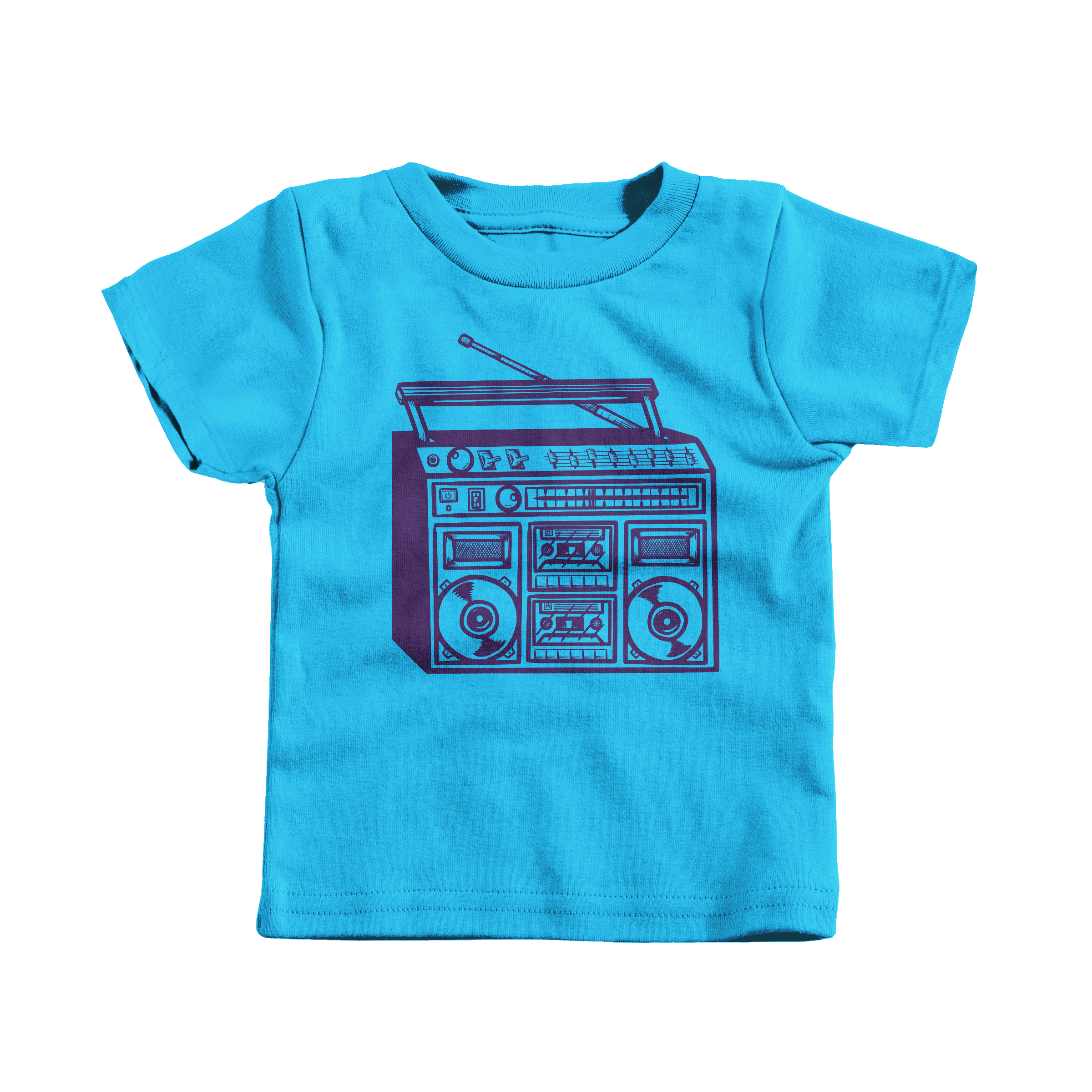 Boomboxin' Turquoise (T-Shirt)