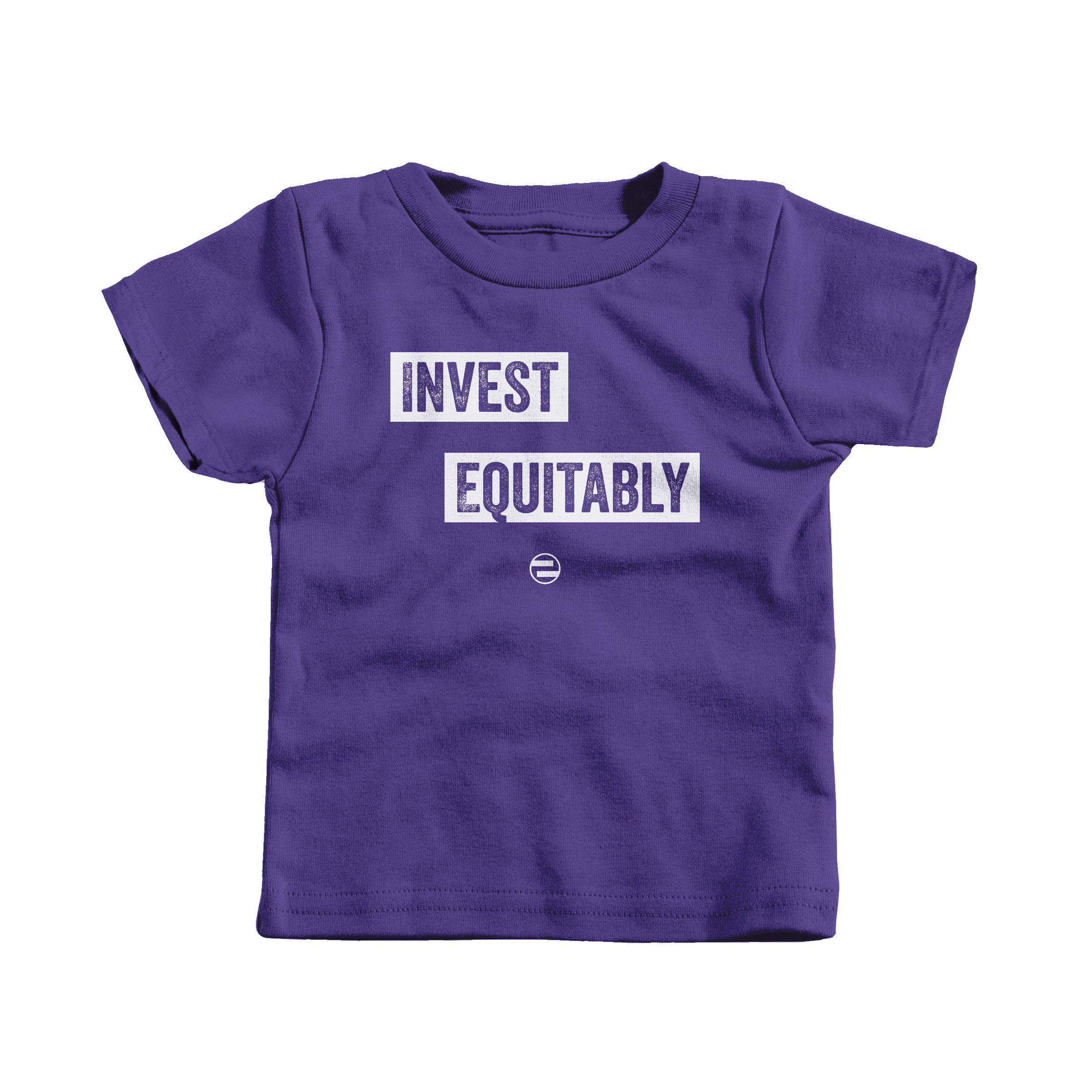 "GenEquality ""Invest Equitably"" Kids Tee & Onesie Purple (T-Shirt)"