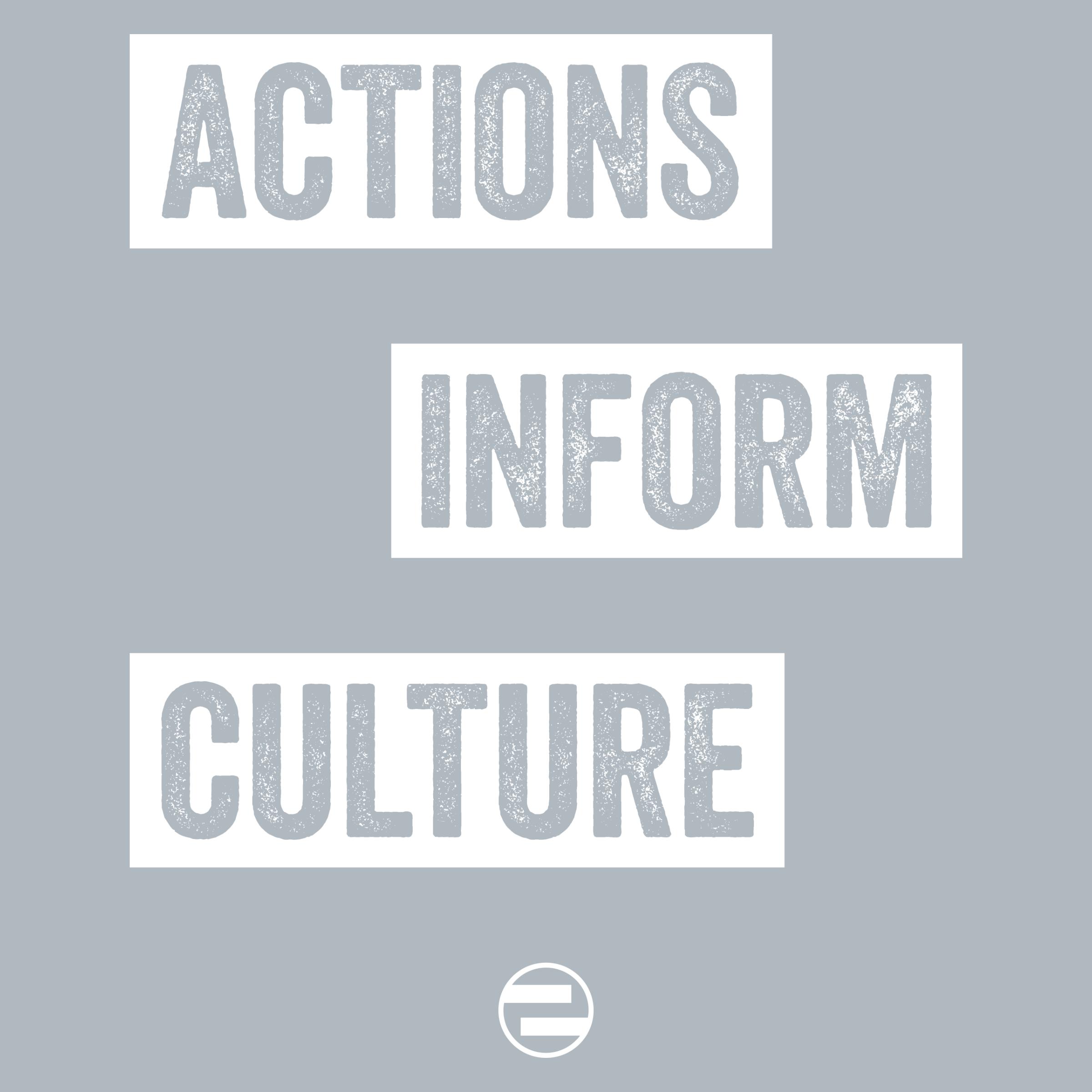 """GenEquality """"Actions Inform Culture"""" Kids Tee & Onesie"""