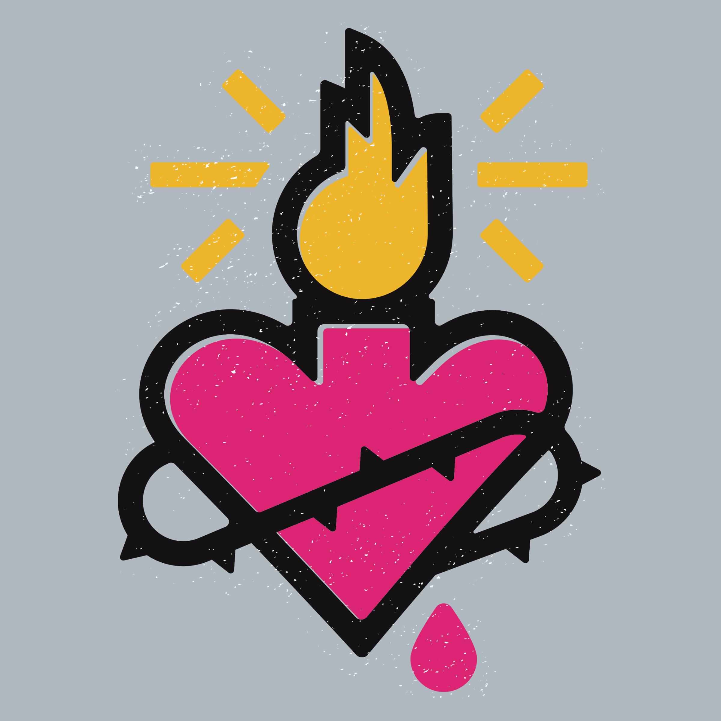 Sacred Heart Detail