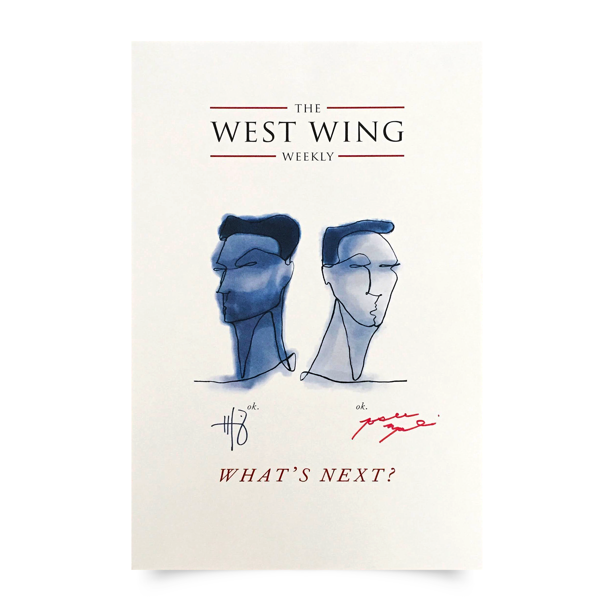 The West Wing Weekly Poster