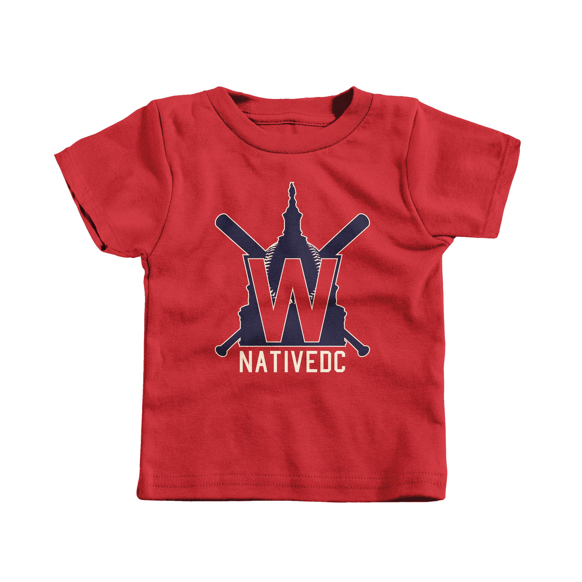 Natives Baseball Red (T-Shirt)