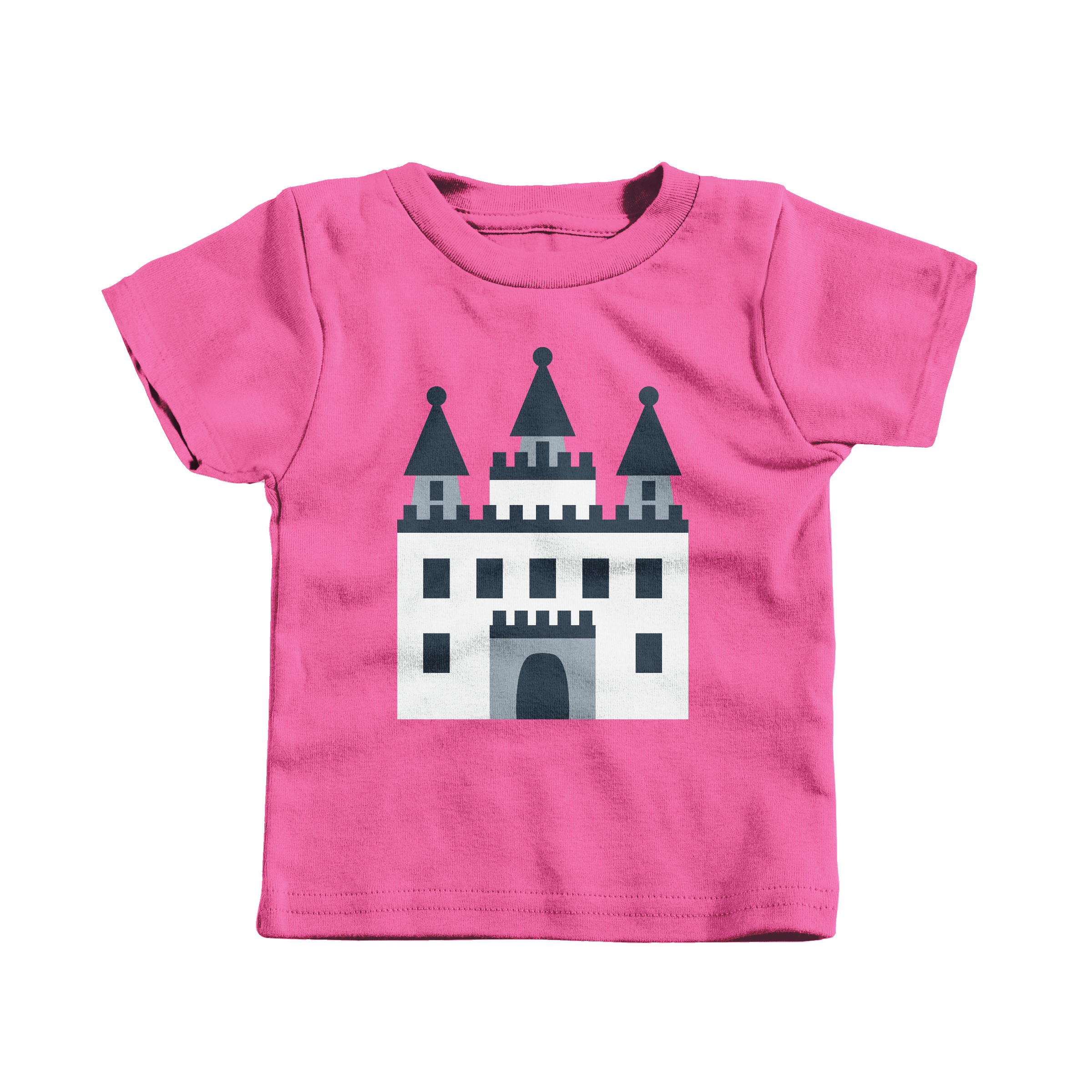 Castle Hot Pink (T-Shirt)