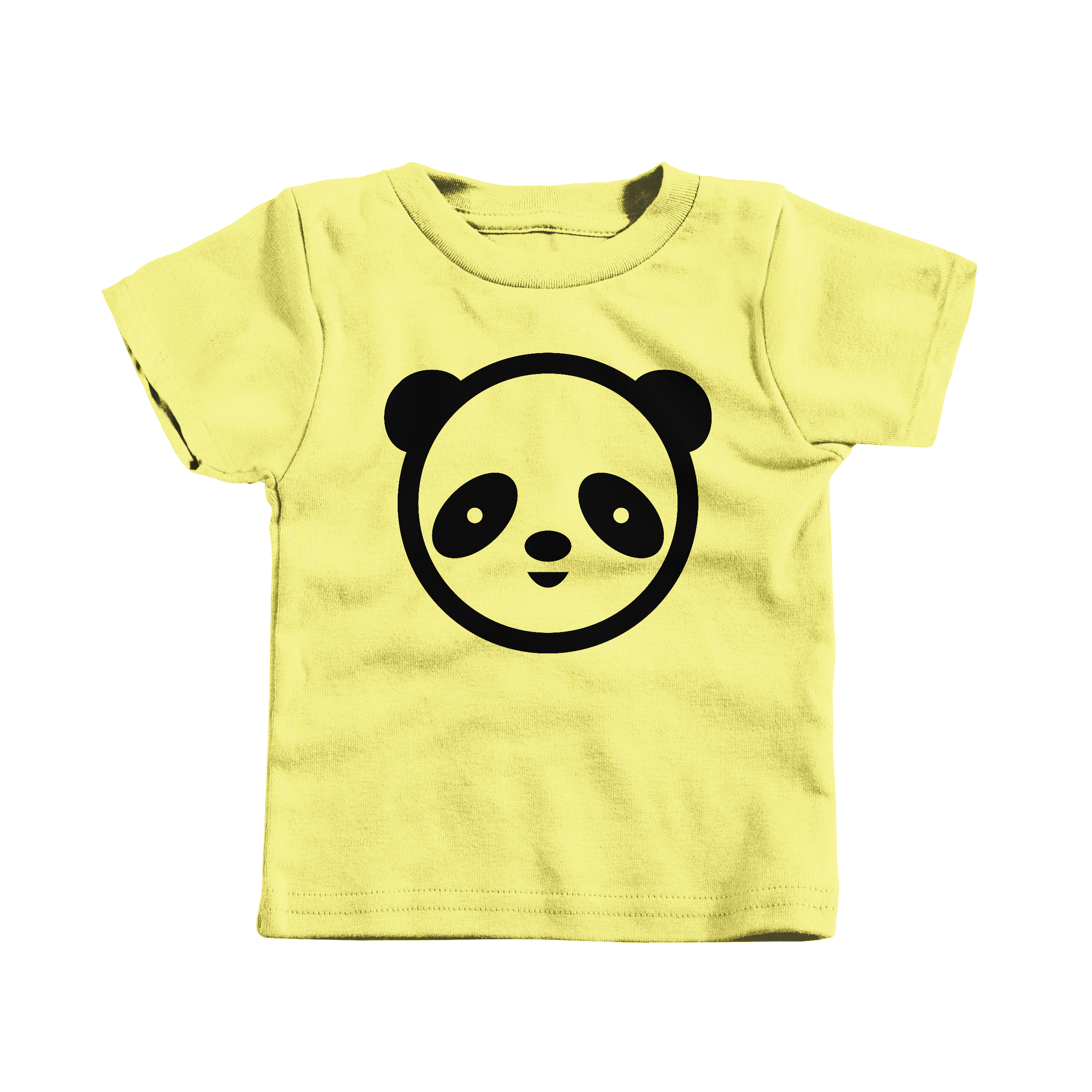 Panda Face Yellow (T-Shirt)
