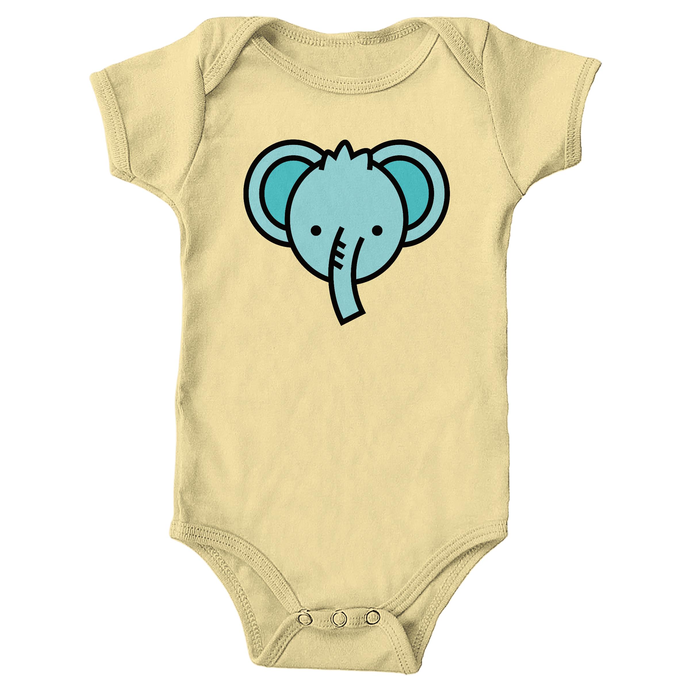 Blue Elephant Butter (Onesie)