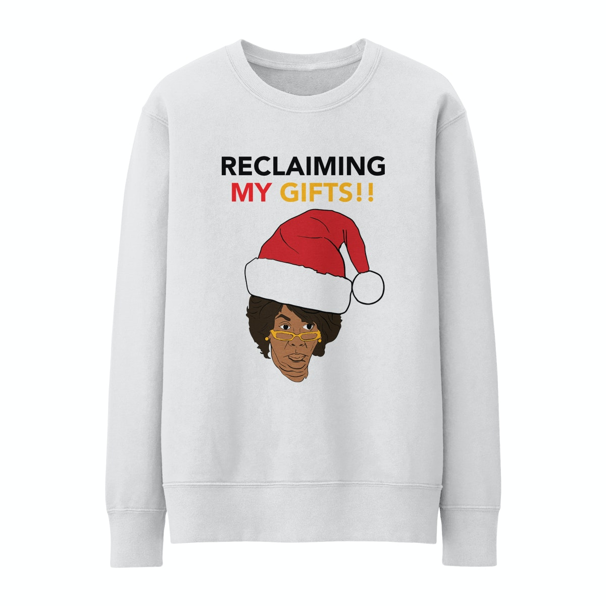 Reclaiming My Time Pullover Crewneck