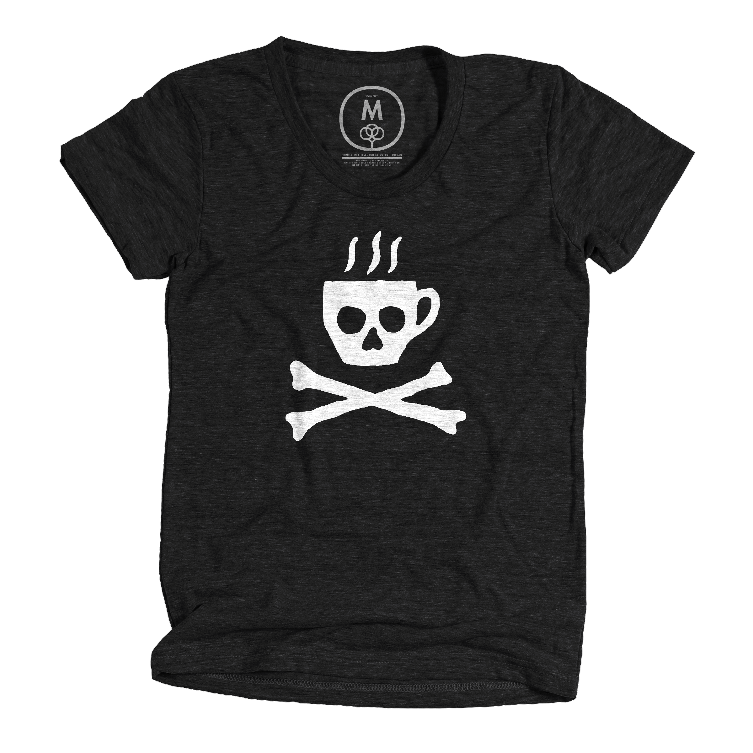 Death Before Decaf Vintage Black (Women's)