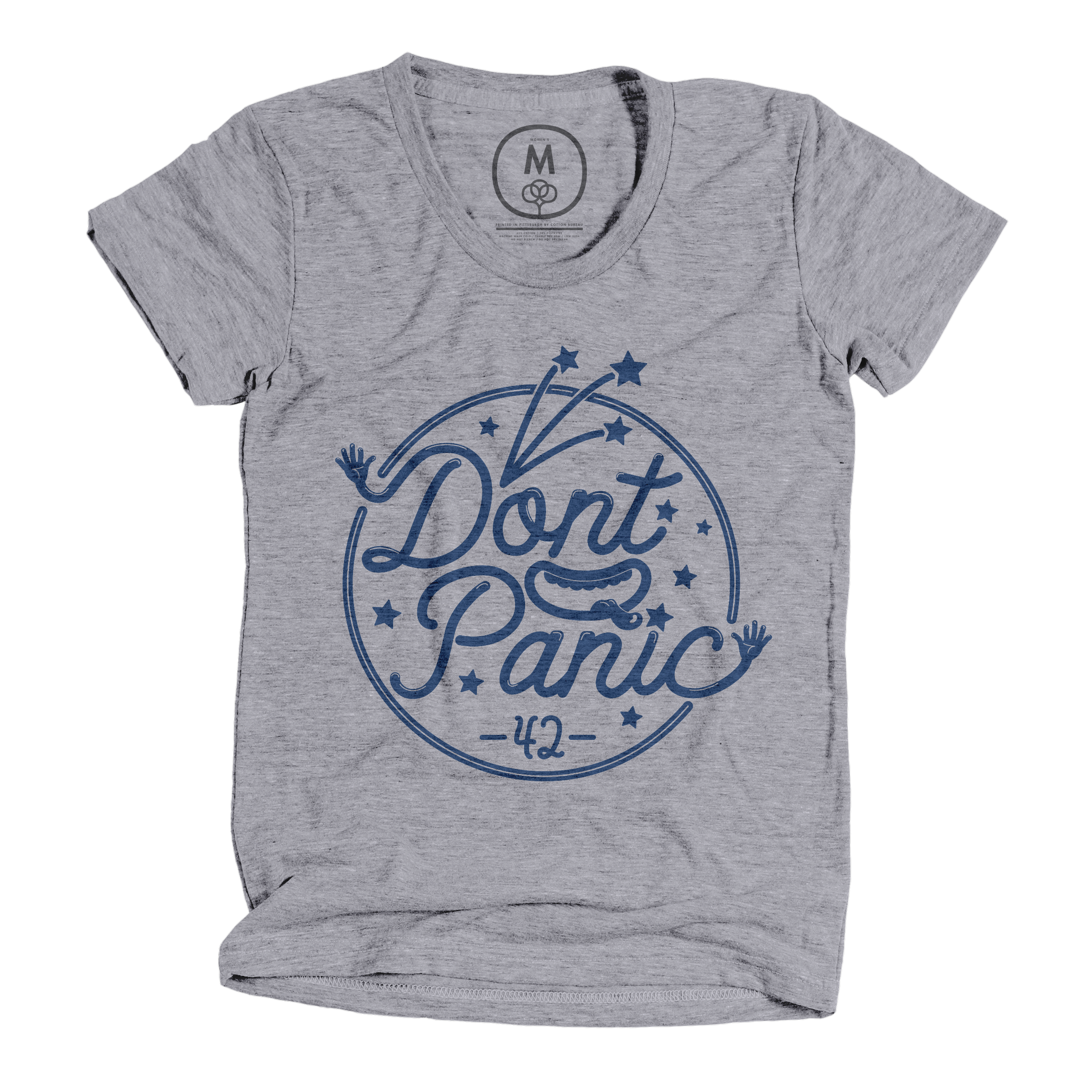 Don't Panic! Premium Heather (Women's)