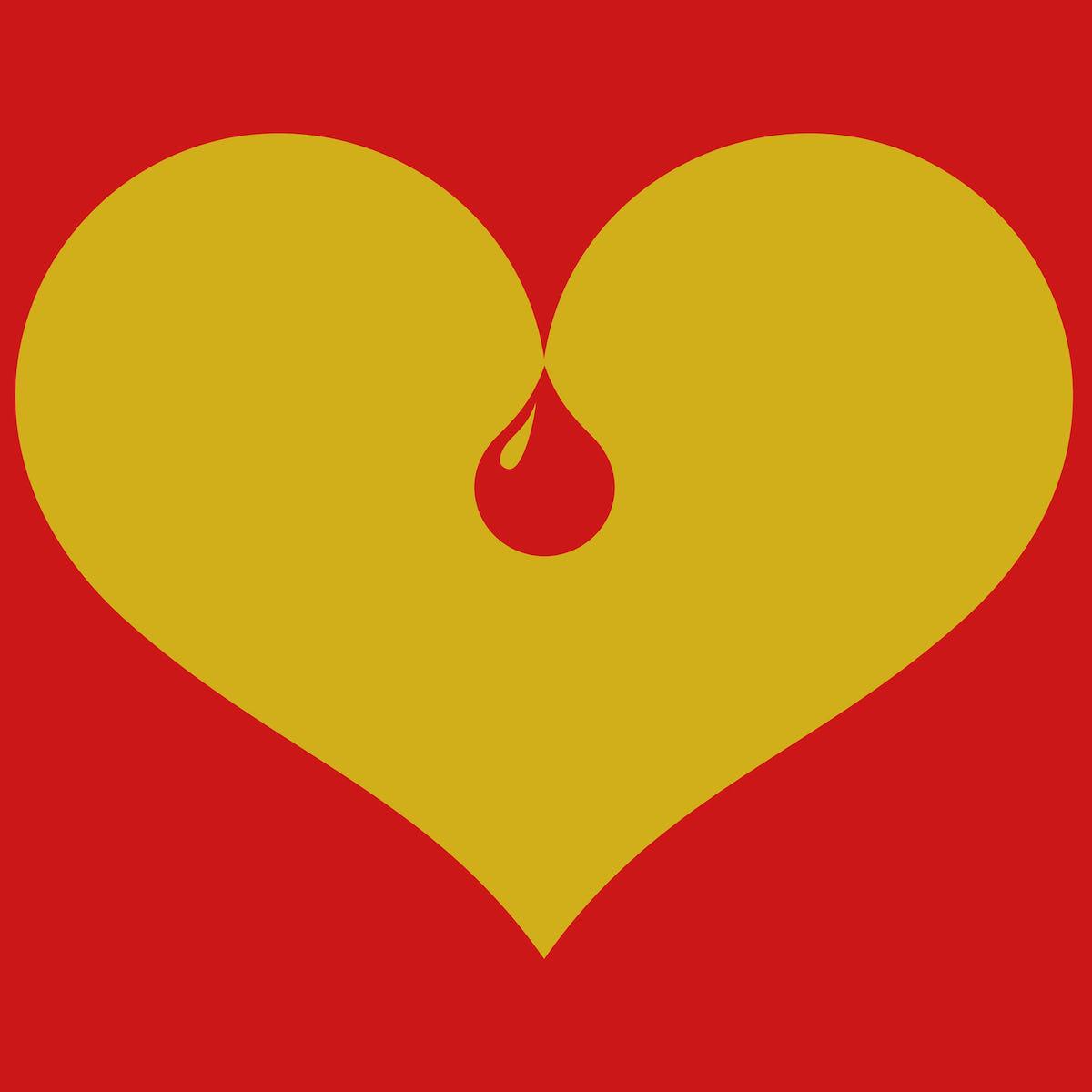 Bleeding heart graphic tee by pierre vermeir cotton bureau bleeding heart graphic tee by pierre vermeir cotton bureau buycottarizona