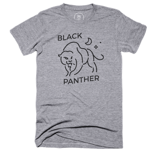 """769869462 Black Panther"""" graphic tee by Stefano Marchini. 