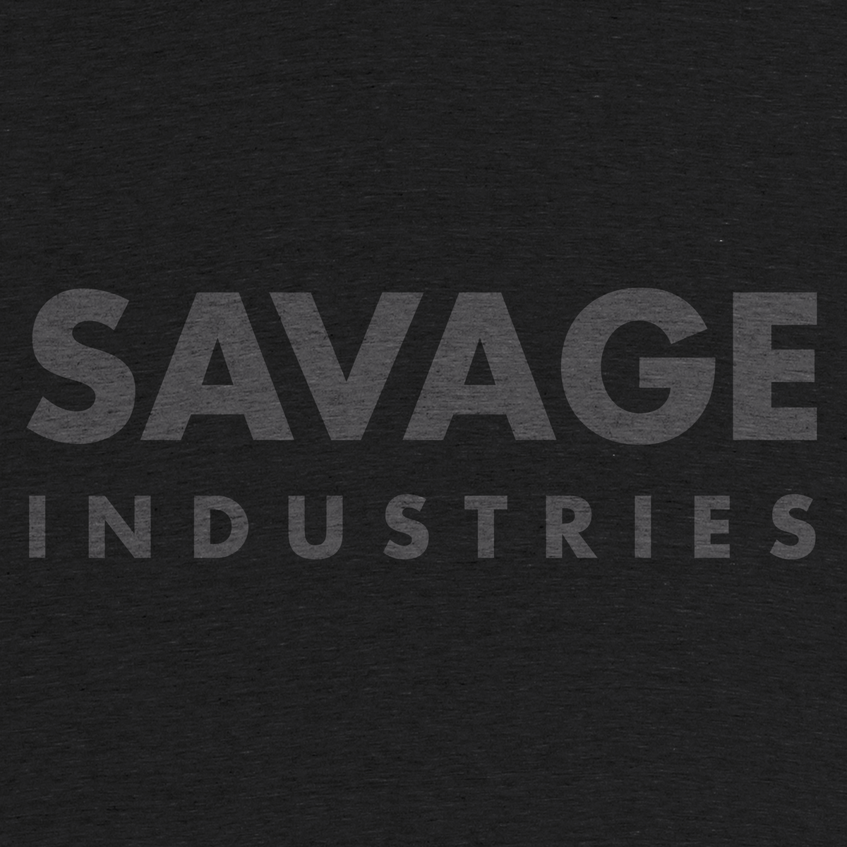 "6c768cadffc7 ""Savage Industries"" graphic tee by Savage Merchandising.   Cotton Bureau"
