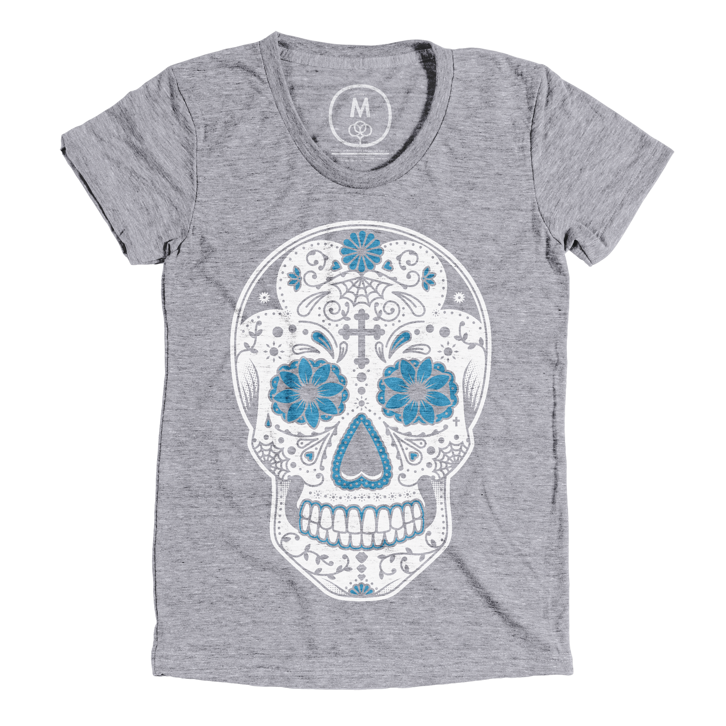 Day of the Dead Premium Heather (Women's)