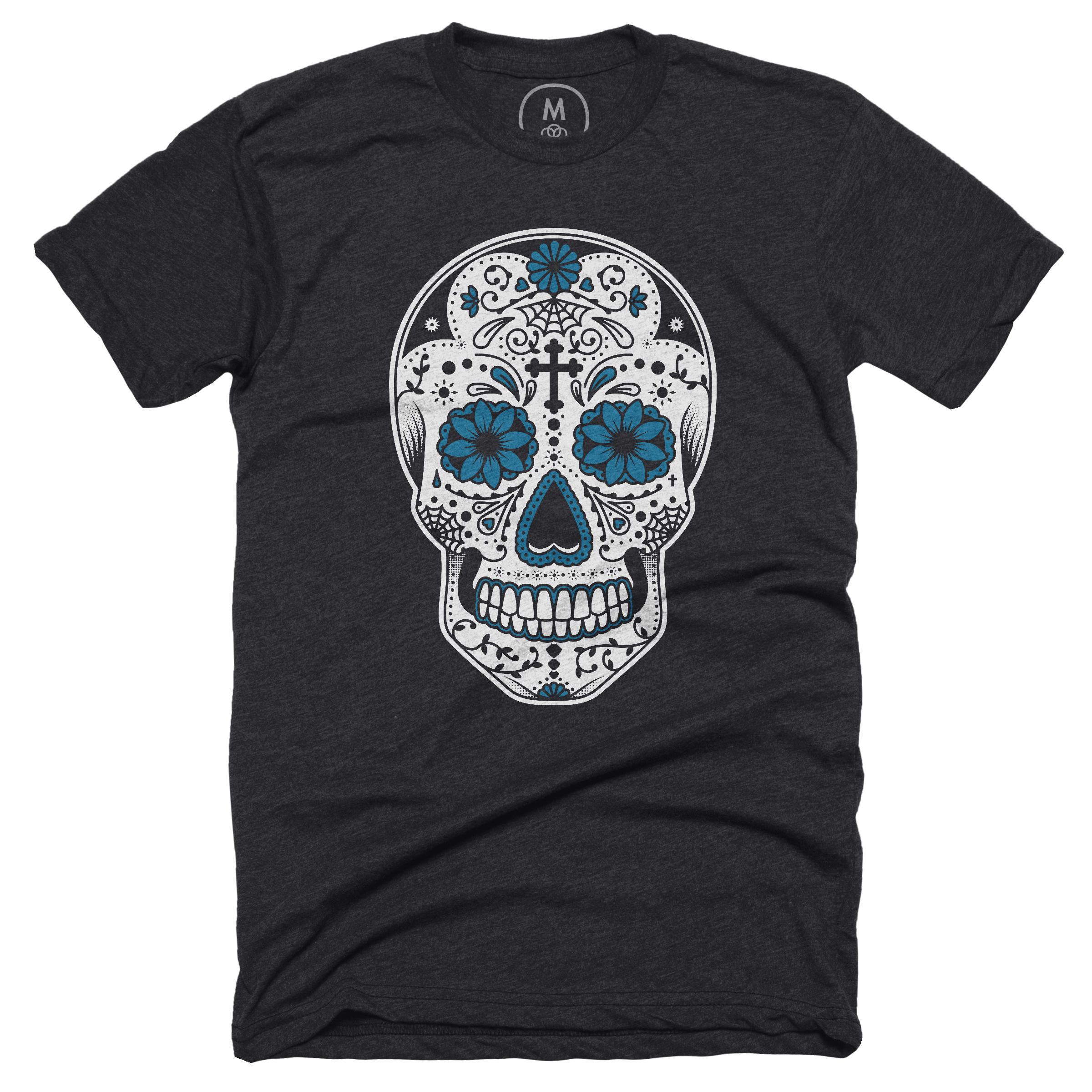 Day of the Dead Charcoal (Men's)