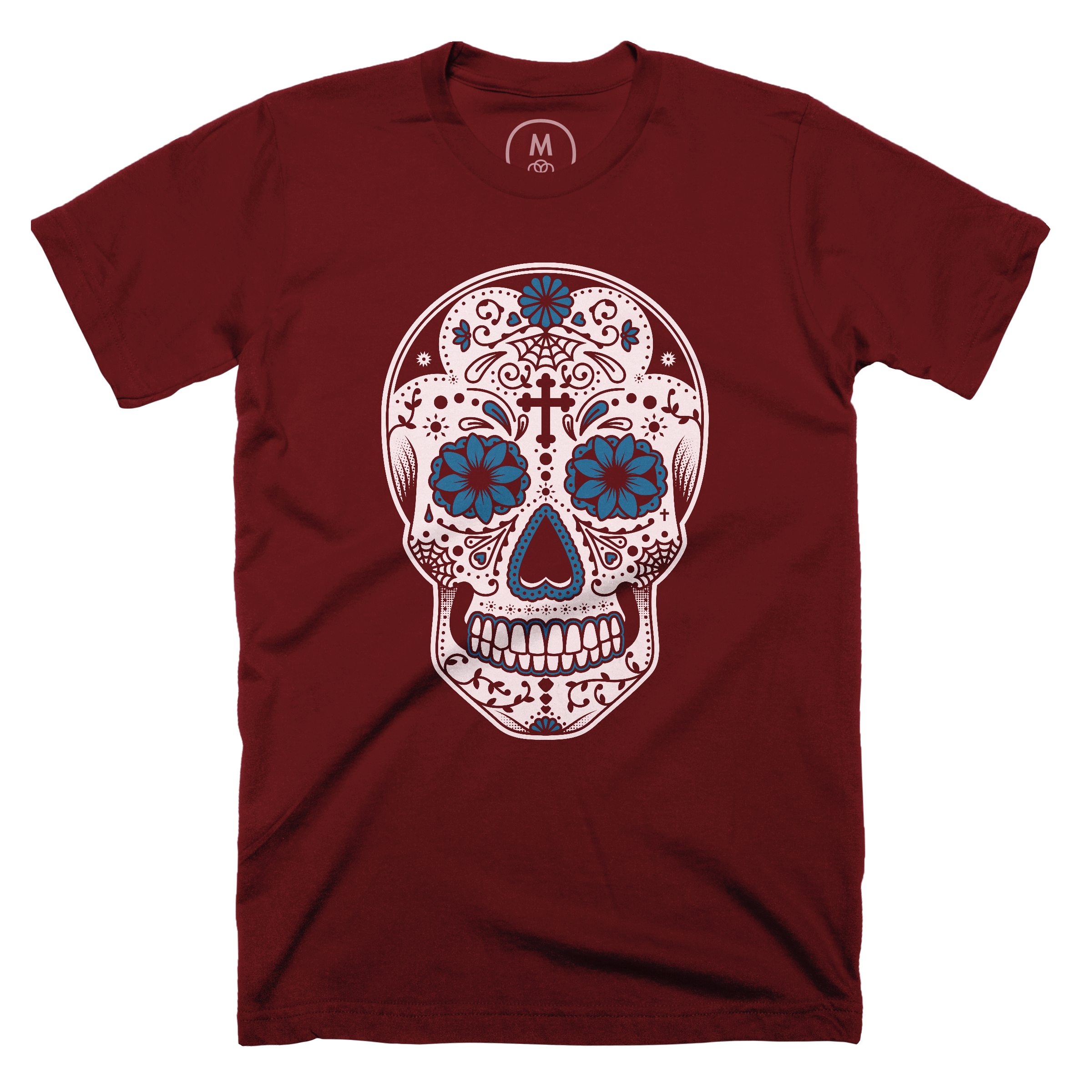 Day of the Dead Maroon (Men's)