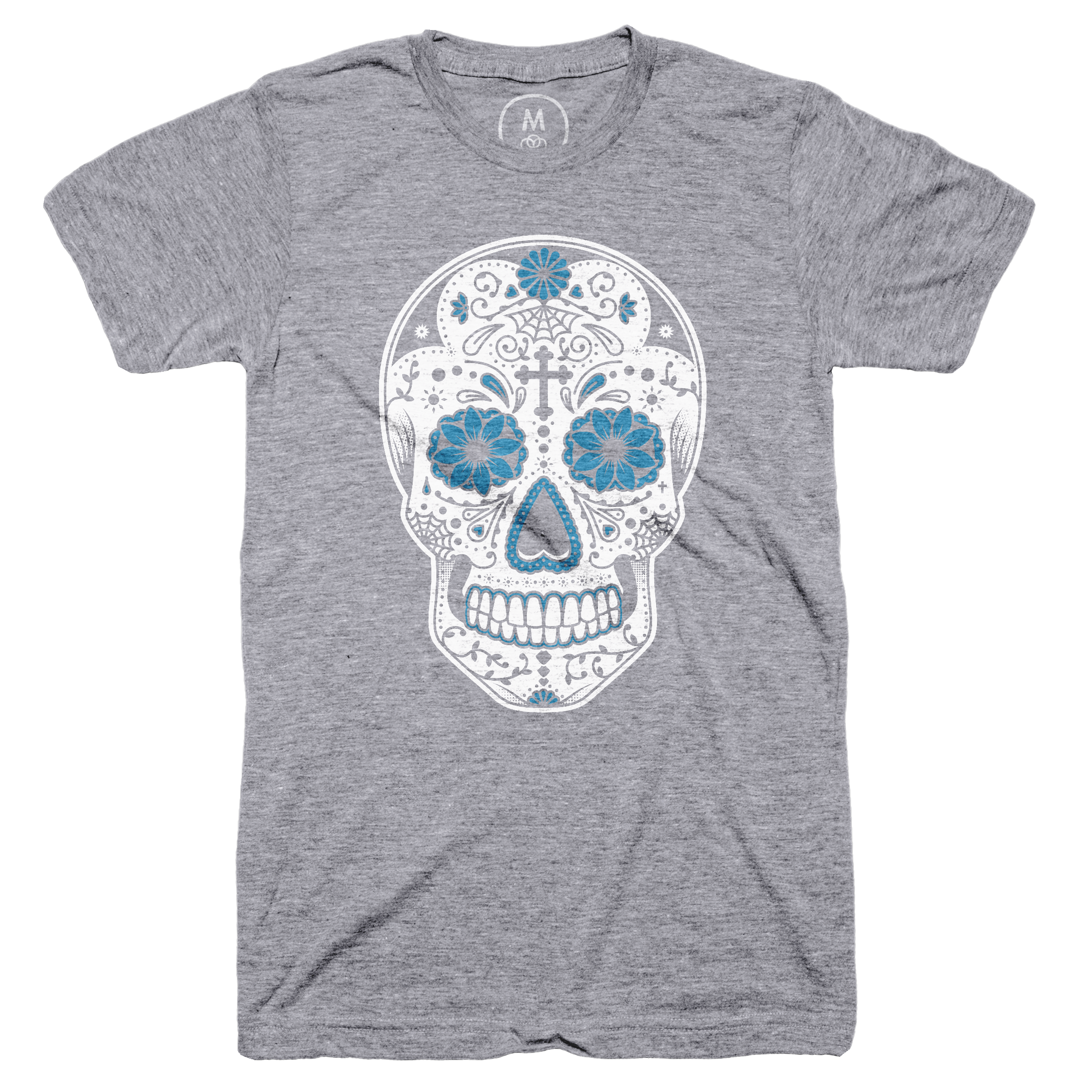 Day of the Dead Premium Heather (Men's)