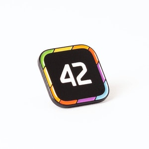 PCalc - Six Colors Pin