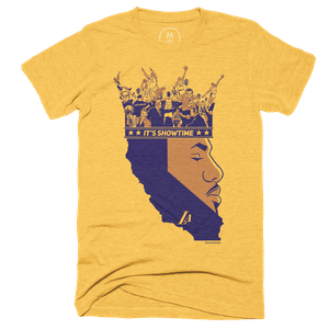 """59182a420 Showtime"""" graphic tee by Jack Perkins."""