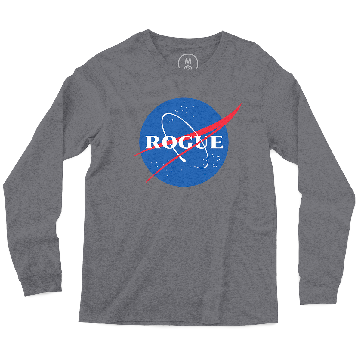 "43361cbe ""Rogue NASA"" graphic tee, tank, long sleeve tee, and pullover hoodie by  Rogue NASA. 