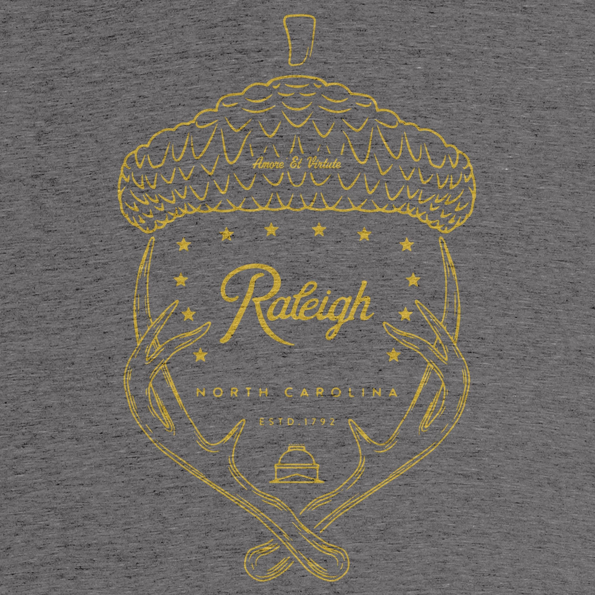 Raleigh, NC Acorntler Tee Detail