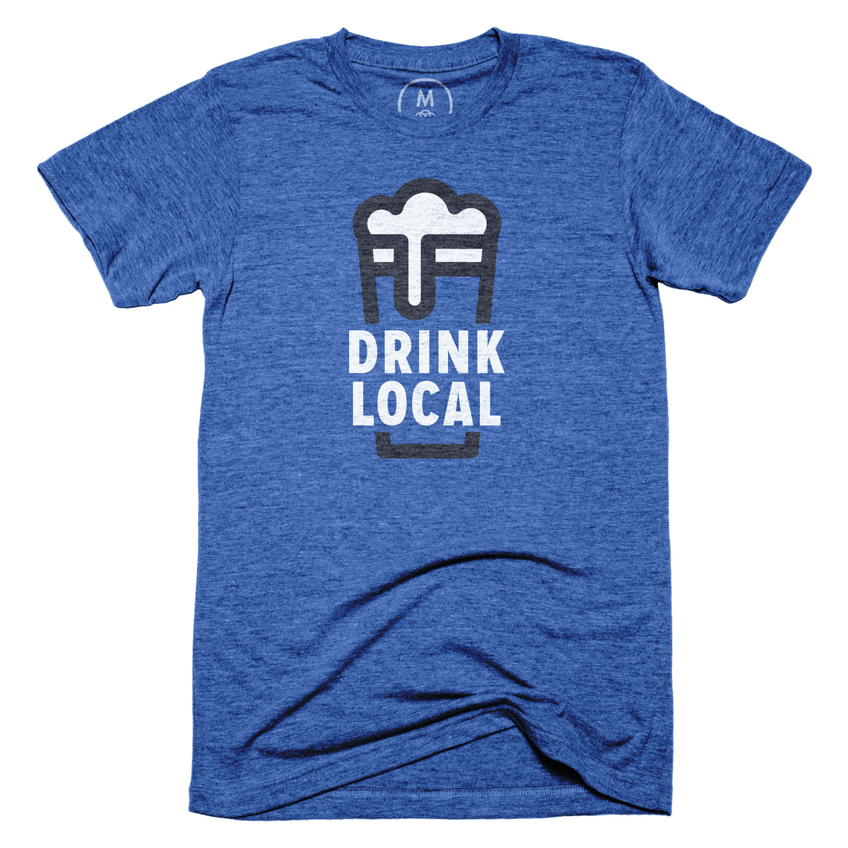 Drink local graphic tee by nick signet cotton bureau for Local t shirt print shops