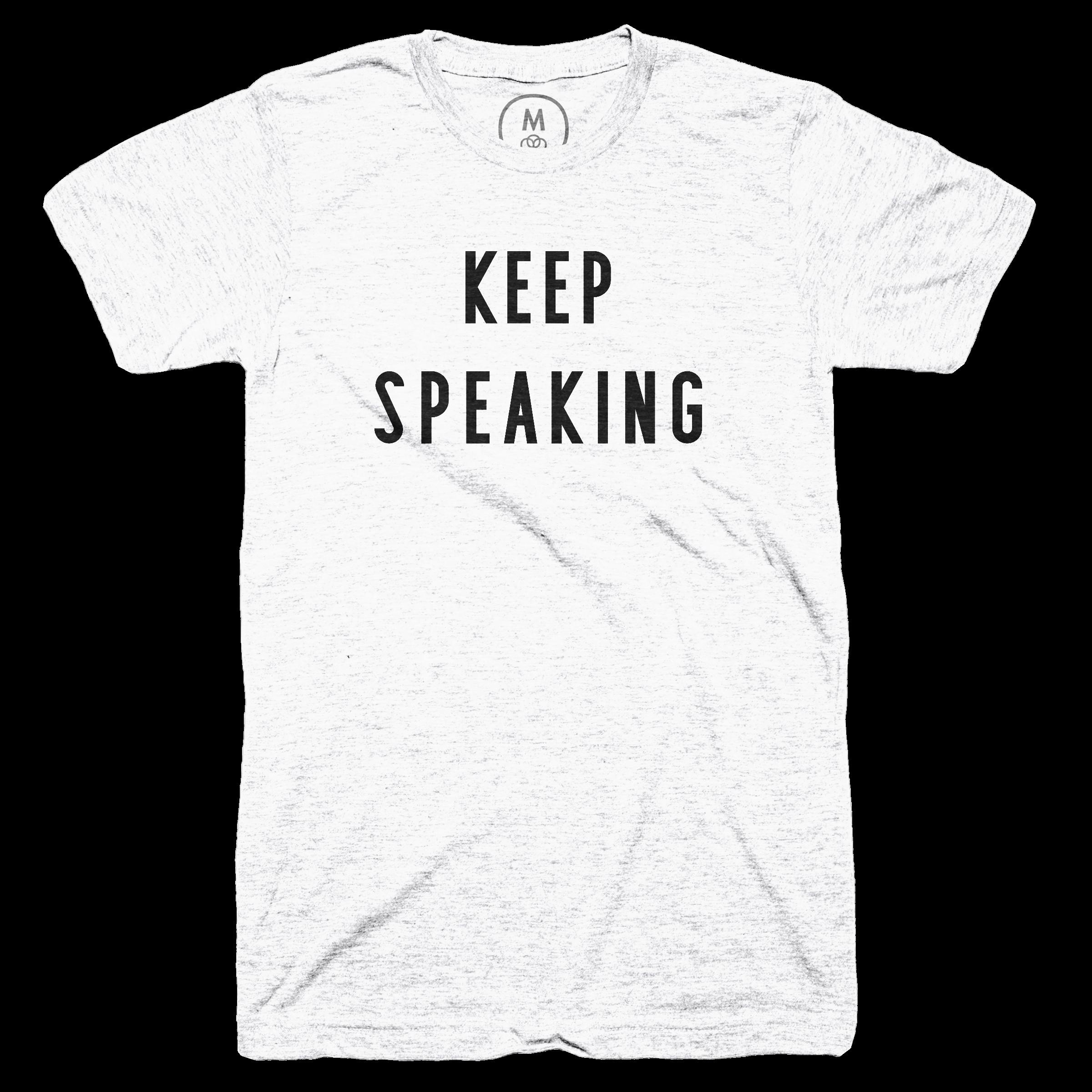 Keep Speaking