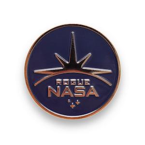 Rogue NASA Insignia Enamel Pin