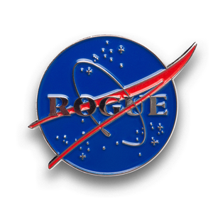 Rogue Nasa Enamel Pin