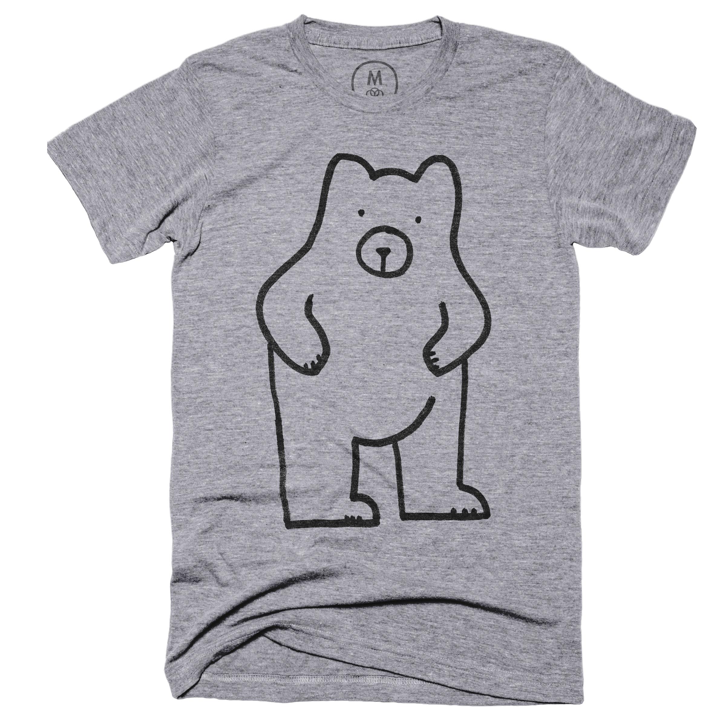 Dumb Bear Premium Heather (Men's)