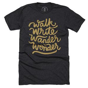 Walk, Write, Wander, Wonder