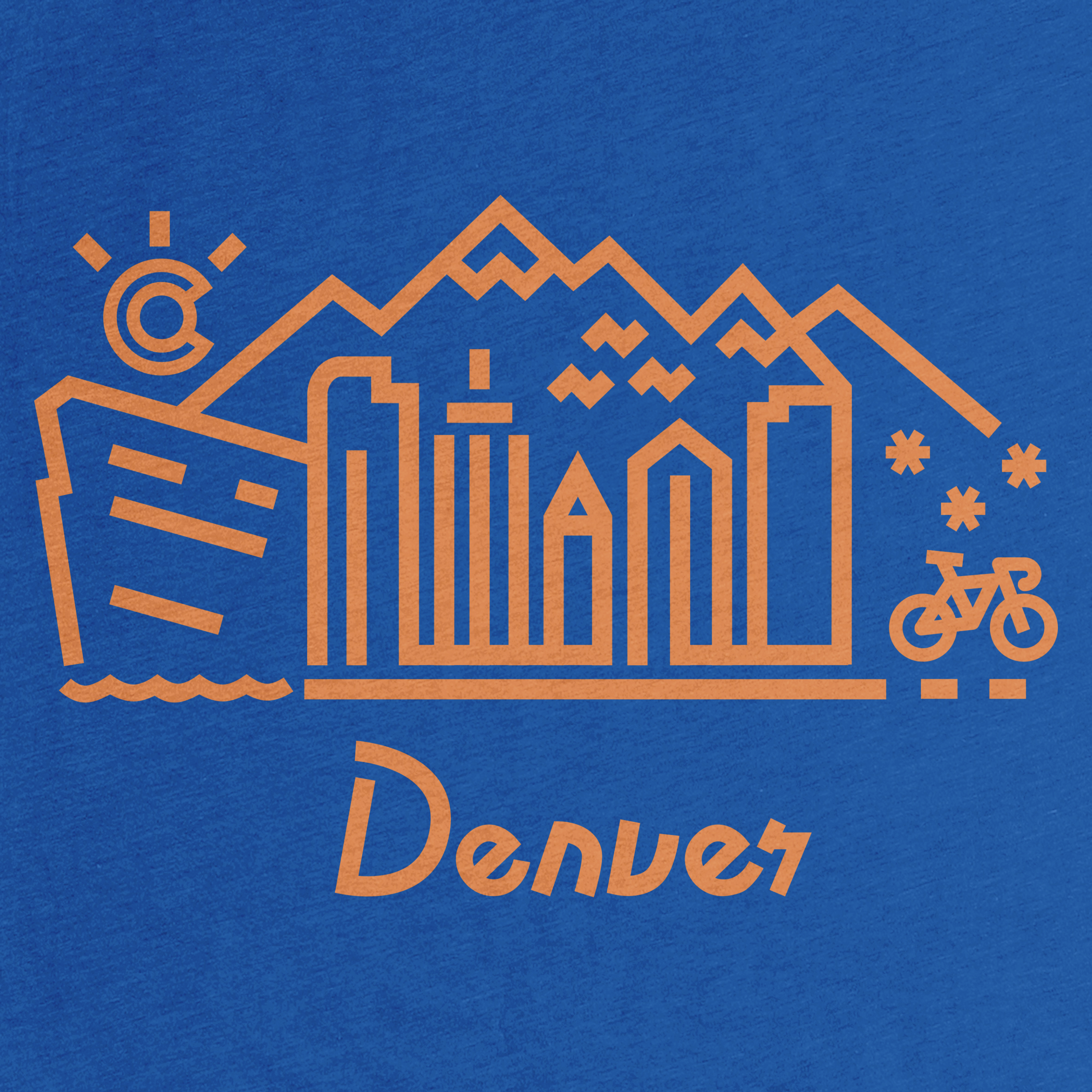 Denver Skyline Detail