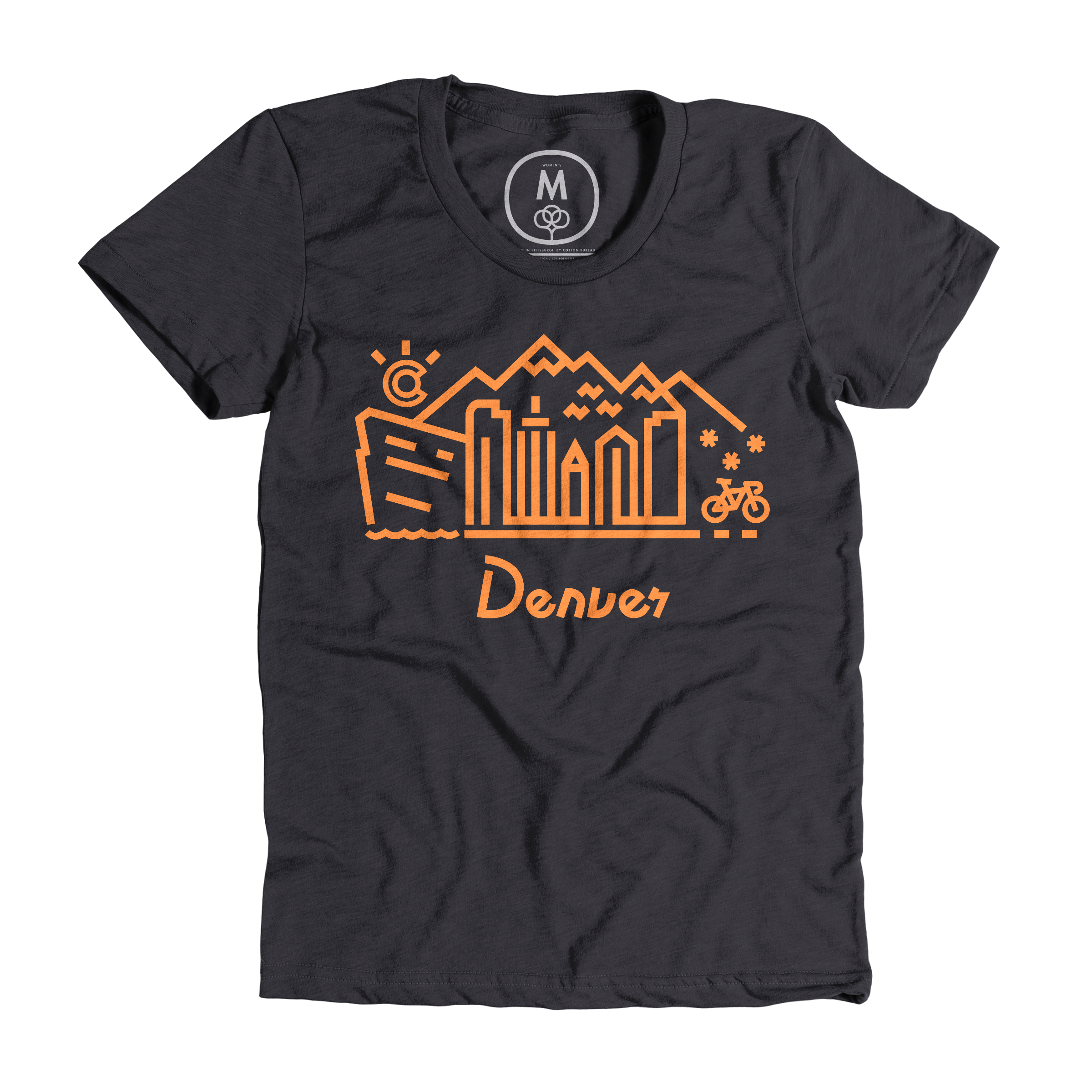 Denver Skyline Charcoal (Women's)