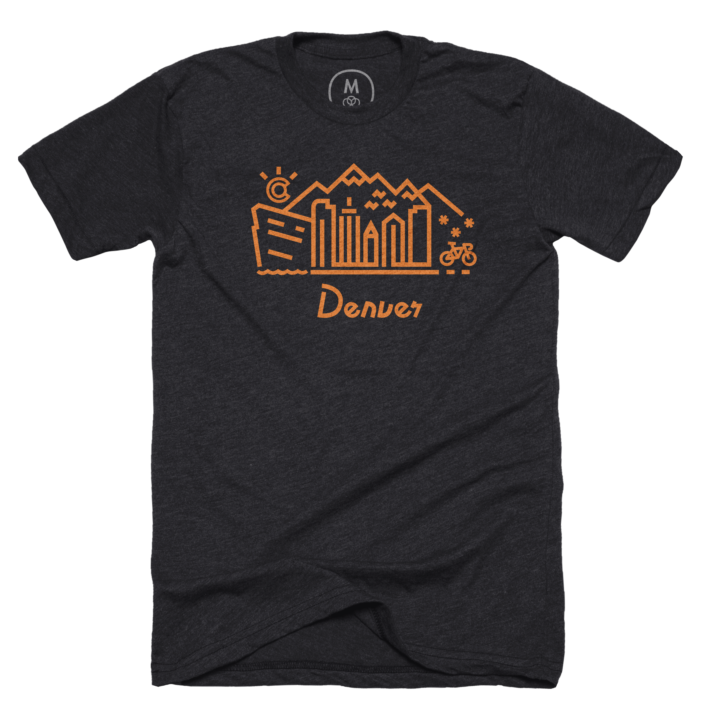 Denver Skyline Charcoal (Men's)