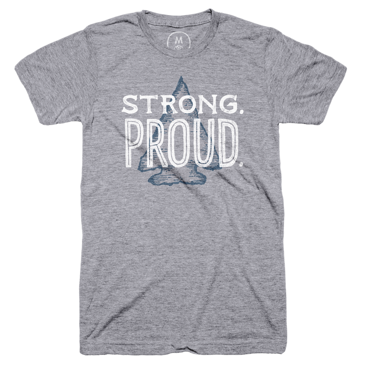 Flint Mi Strong Proud Graphic Tee And Pullover Hoodie By Ashley