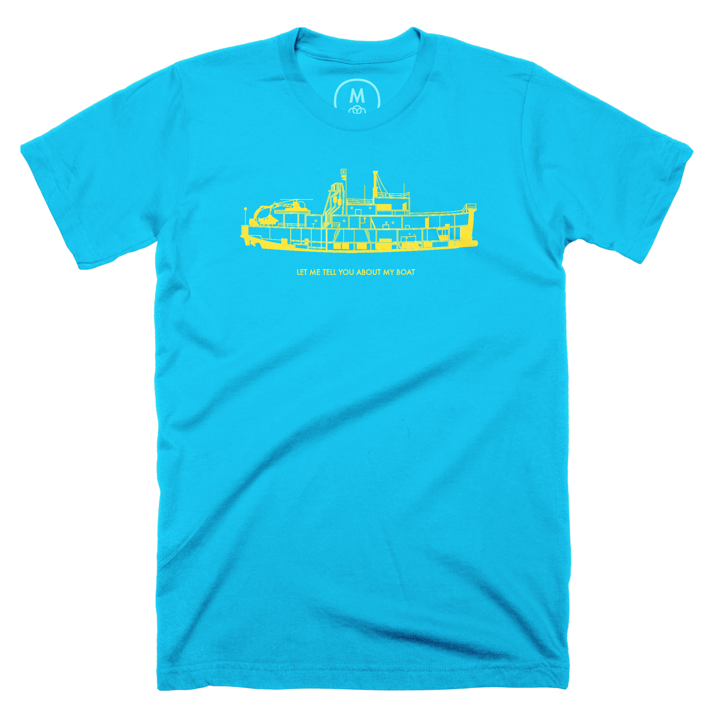 Let Me Tell You About My Boat Turquoise (Men's)