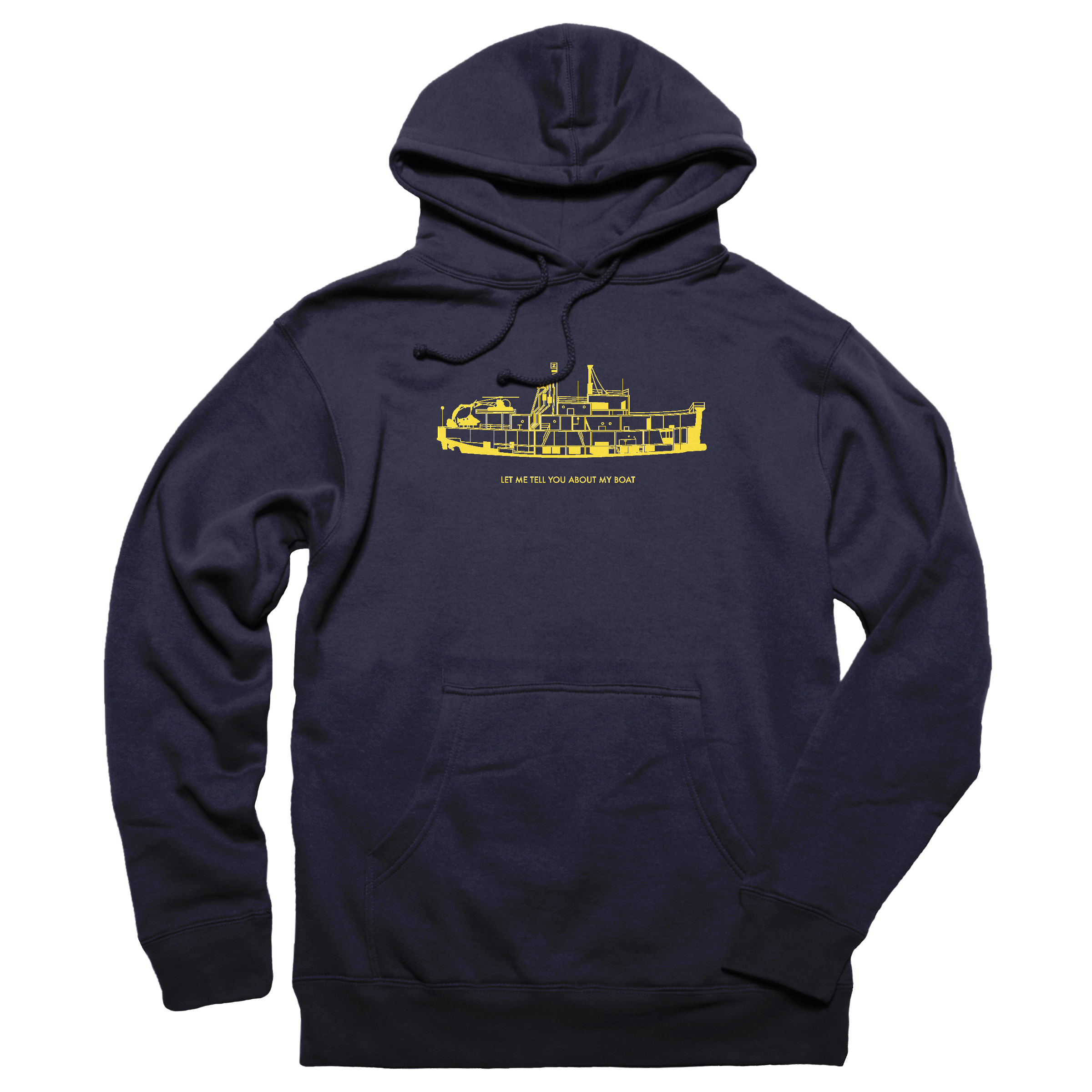 Let Me Tell You About My Boat Pullover Hoodie