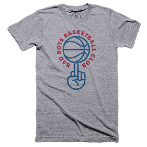 Bad Boys Basketball Club Graphic Tee By Patrick Moriarty Cotton
