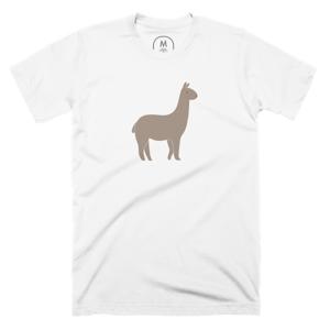 Flat Alpaca Print