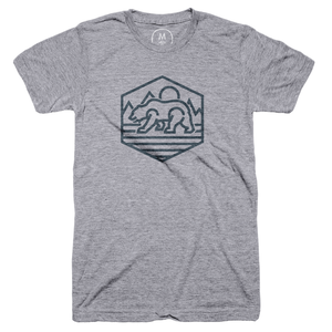 Linear Bear Emblem