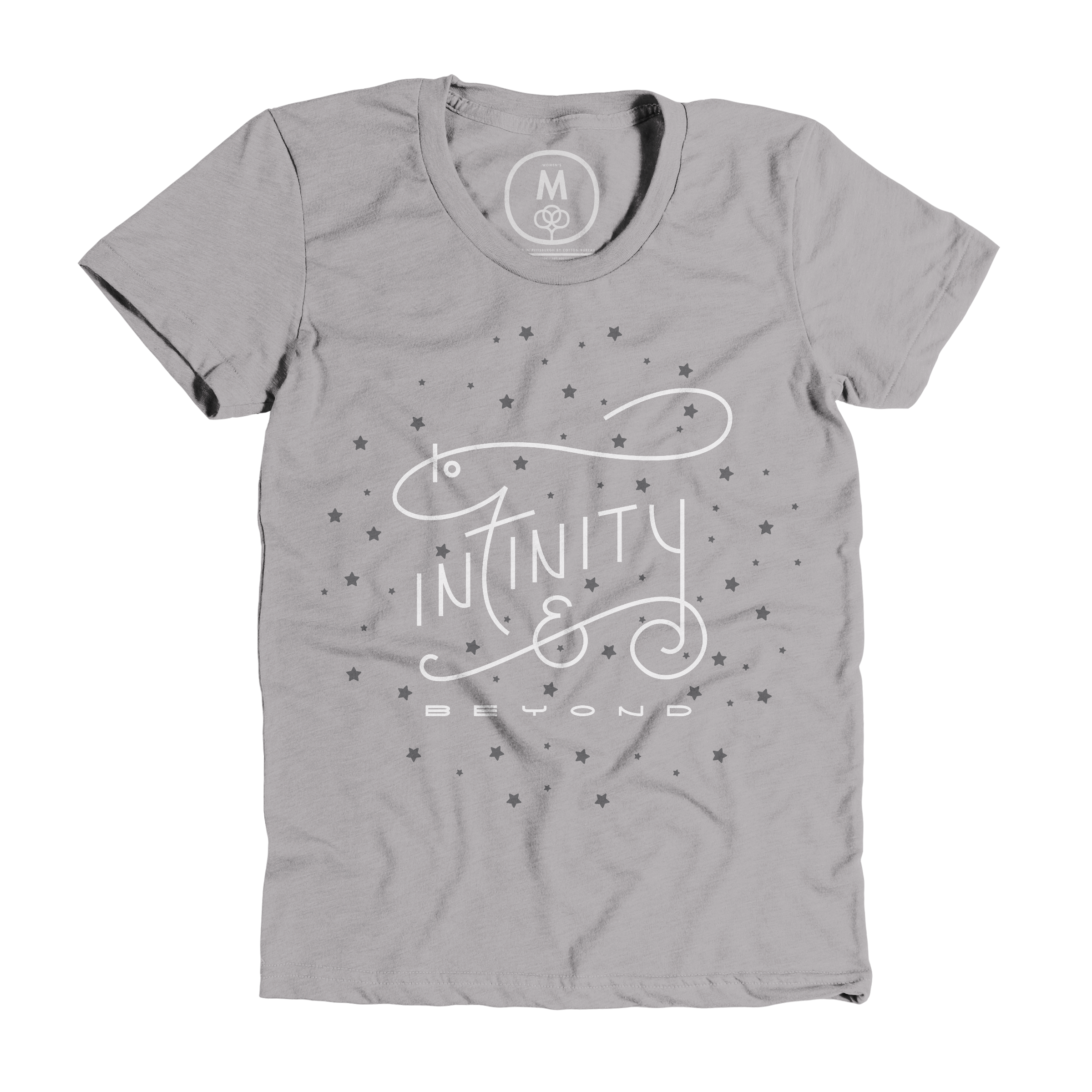 To Infinity & Beyond Dark Heather Grey (Women)