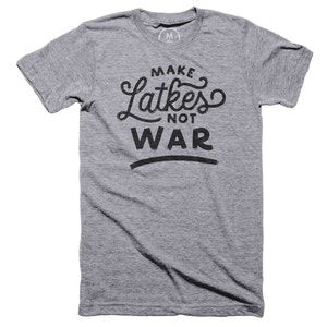 Latkes Not War