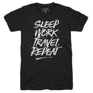 Sleep, Work, Travel, Repeat