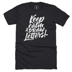 Keep Calm & Draw Letters