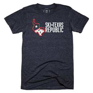 Republic Auto Of Texas >> Ski The Republic Of Texas Graphic Tee And Pullover Crewneck