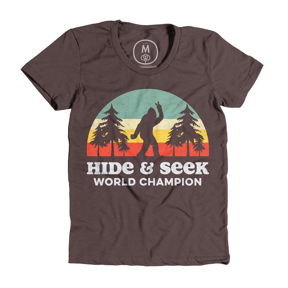 """0dd499695 """"Bigfoot Hide & Seek World Champion"""" graphic tee and pullover crewneck by  Tingsy. 