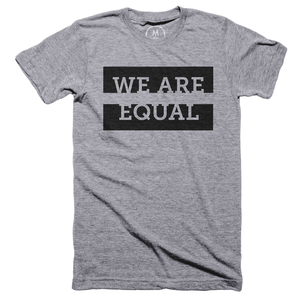 We Are Equal - Black