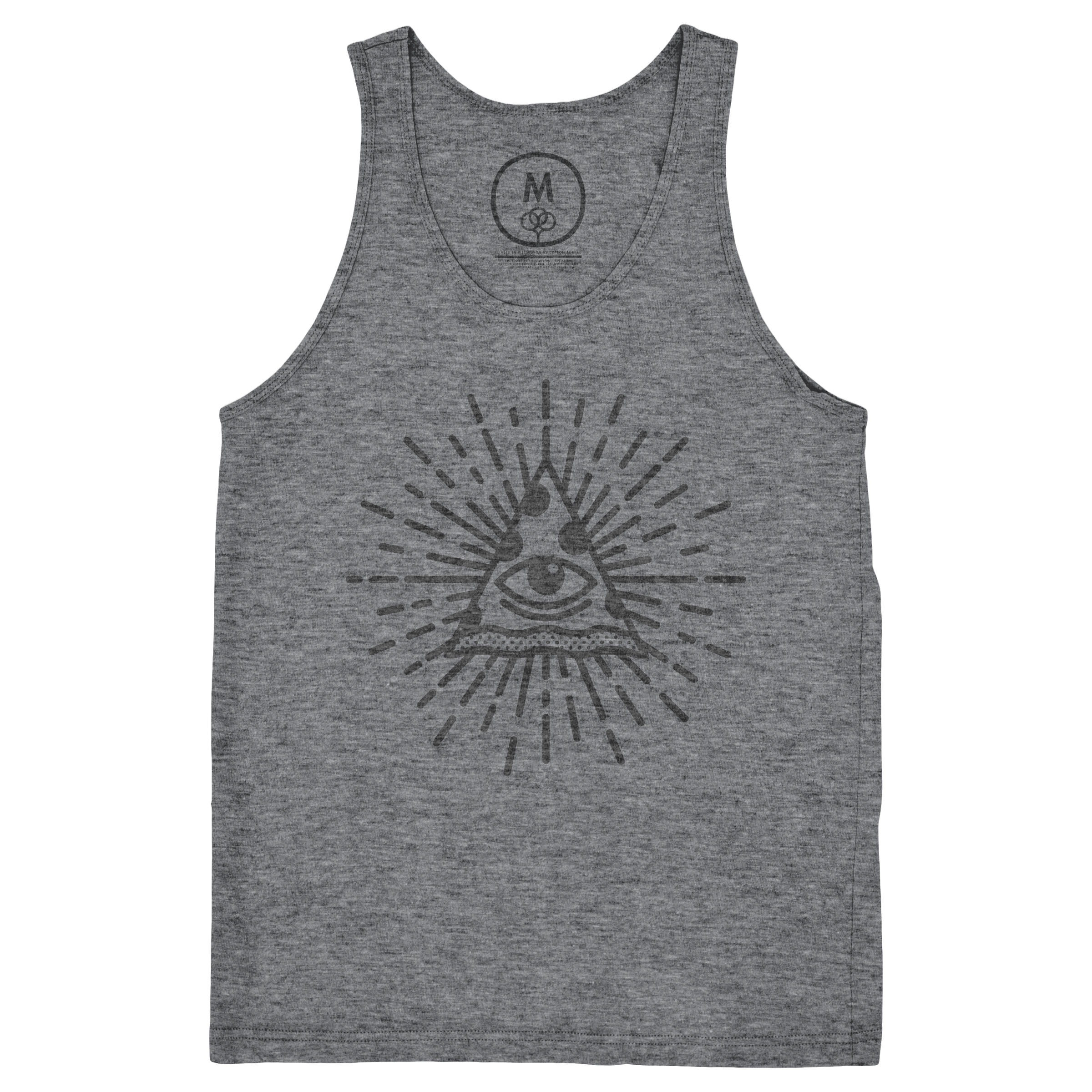 The All-Seeing Pizza Tank Top