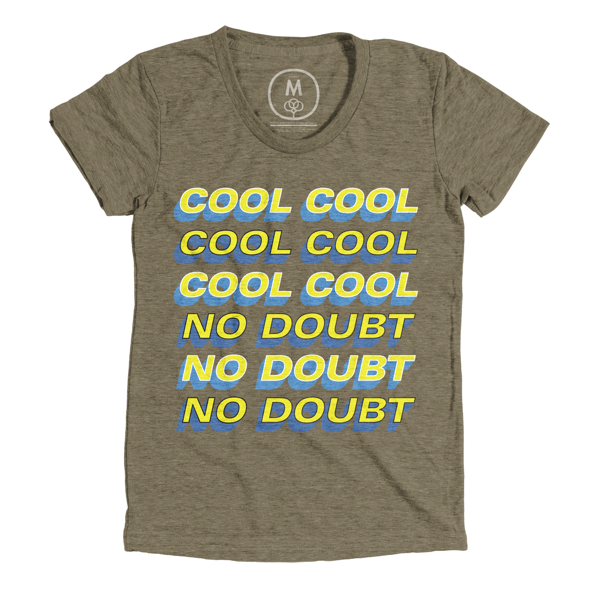 """bdfabbca9 """"COOL COOL COOL NO DOUBT NO DOUBT NO DOUBT"""" graphic tee and tank by  laimutyy. 
