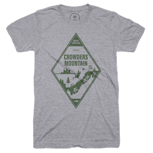 """fea778d4 Crowders Mountain"""" graphic tee and tank by Maribeth Kiser. 