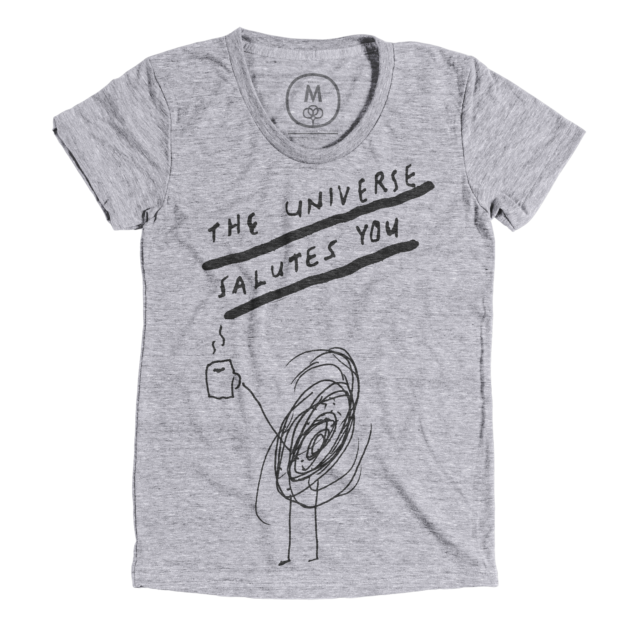 The Universe Salutes You Premium Heather (Women's)
